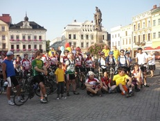 cycle poland in cieszyn
