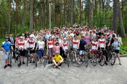 Cycle Poland at hospice conference